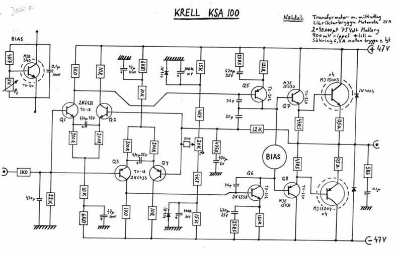 need help with krell ksa 100